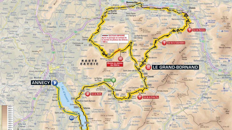 Recorrido de la décima etapa | Tour de Francia 2018