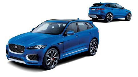 Jaguar F-Pace, fusión poderosa de deportividad y todoterreno