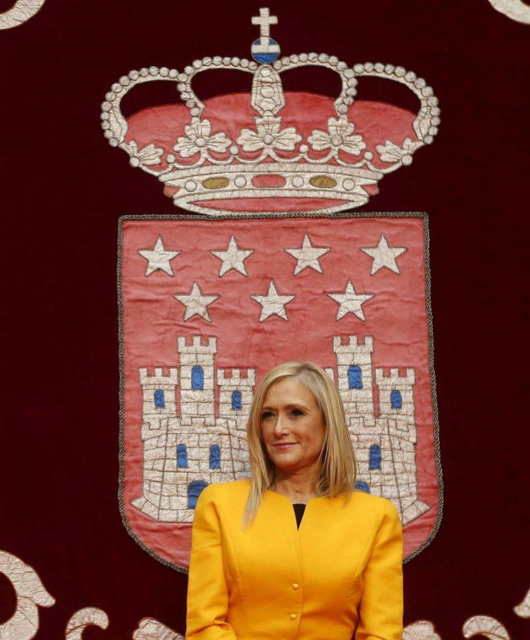 Foto: La nueva presidenta de la Comunidad de Madrid, Cristina Cifuentes. (EFE)