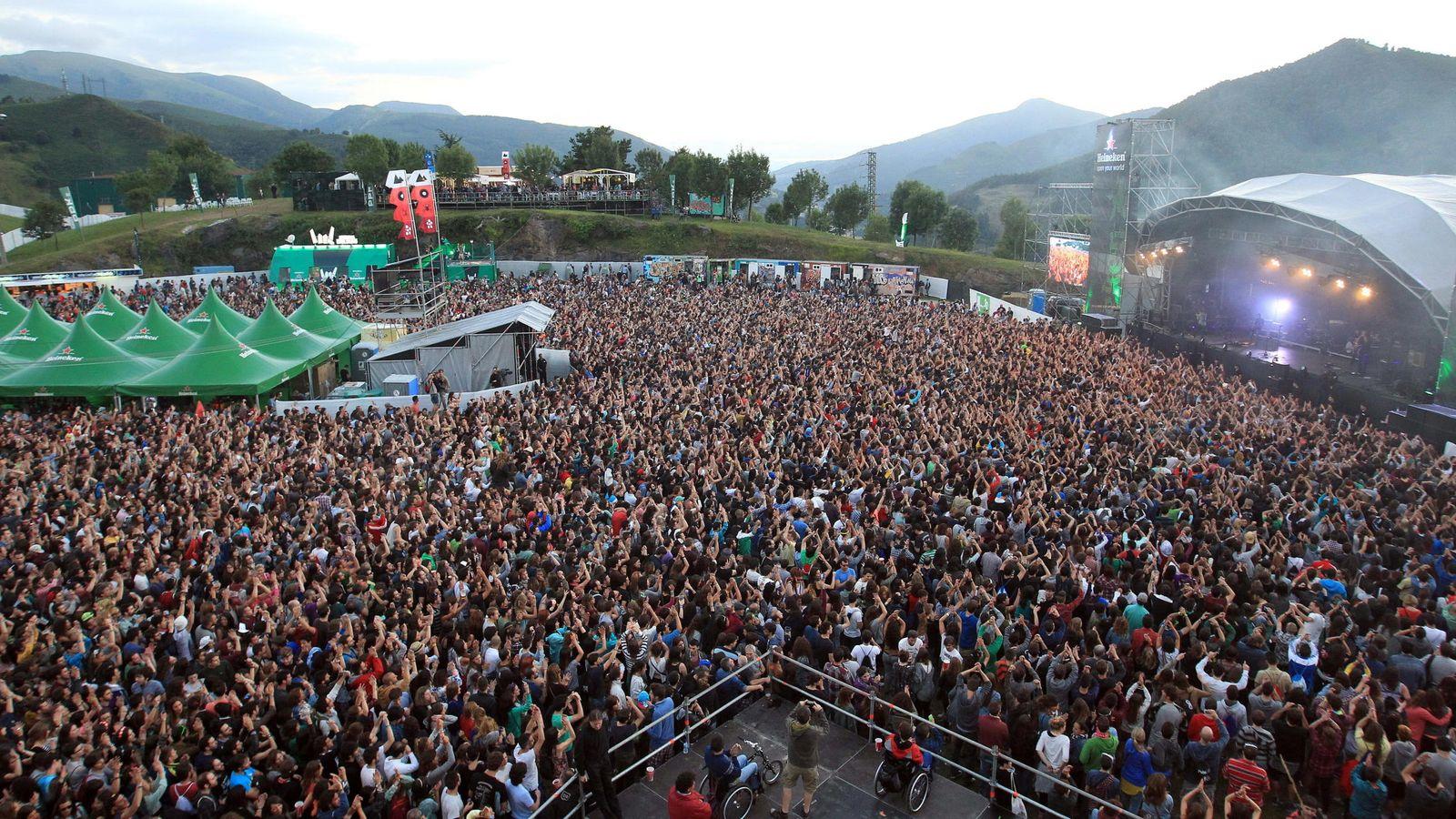 Foto: Bilbao BBK Live en 2014 (Efe)