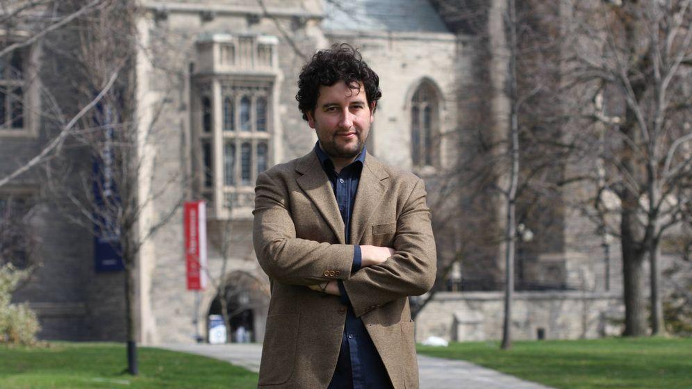 Foto: García de Arquer llegó a la Universidad de Toronto hace tres años para trabajar en soluciones de energía sostenible (Fuente: Pelayo García de Arquer)