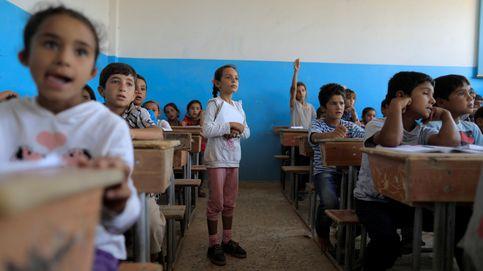 Los yihadistas huyen, los niños vuelven a la escuela