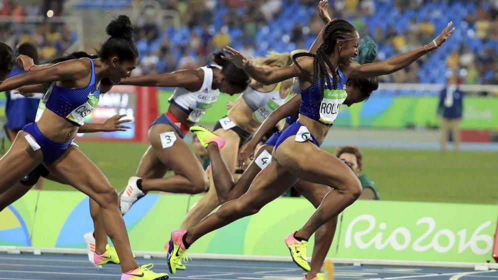 Foto: Brianna Rollins, en su oro en Río. (EFE)