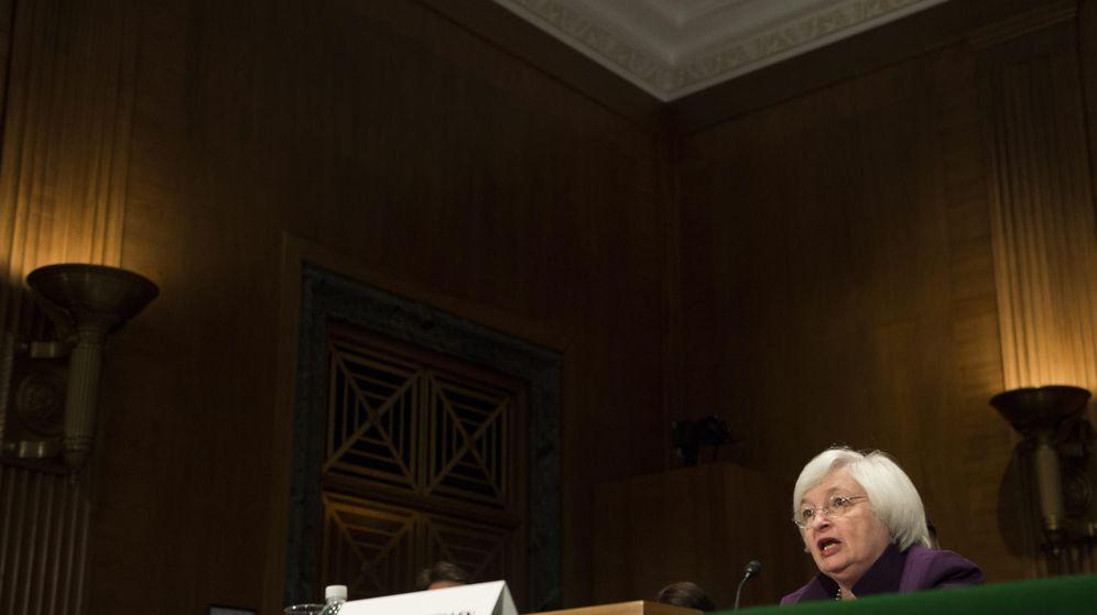 Foto: La presidenta de la Reserva Federal de Estados Unidos, Janet Yellen