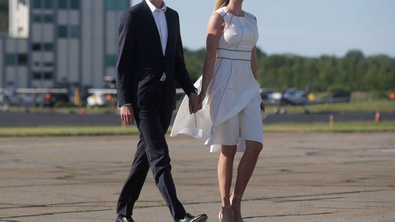 Jared Kushner e Ivanka Trump. (Reuters)
