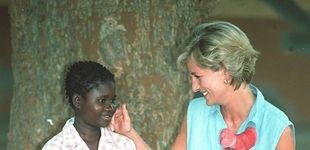 Post de Doña Sofía, Lady Di, Mary de Dinamarca... Cuando otras royals fueron a África