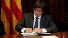 Puigdemont cargará con toda la responsabilidad de la firma del decreto