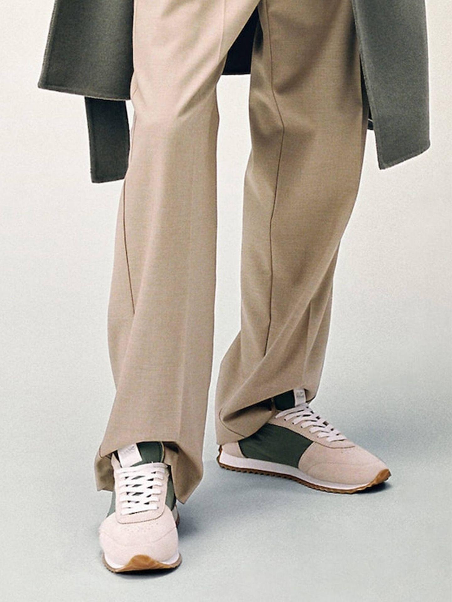 La nueva colección de zapatillas deportivas de Mango tiene modelos para todos los gustos. (Cortesía)