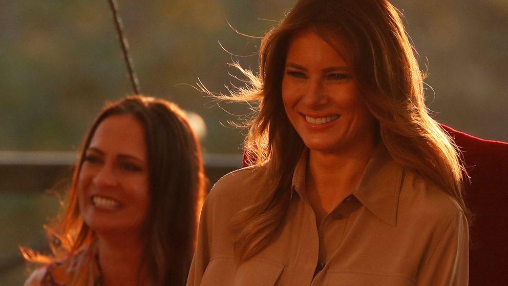La mujer que arregla los errores de Melania Trump y el hombre que los crea