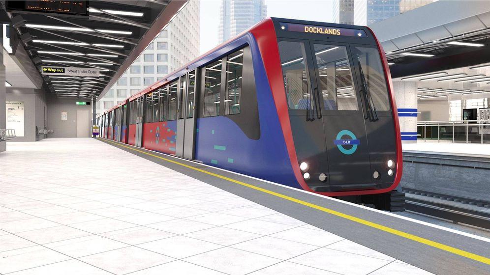 CAF suministrará 43 trenes sin conductor para el metro de Londres