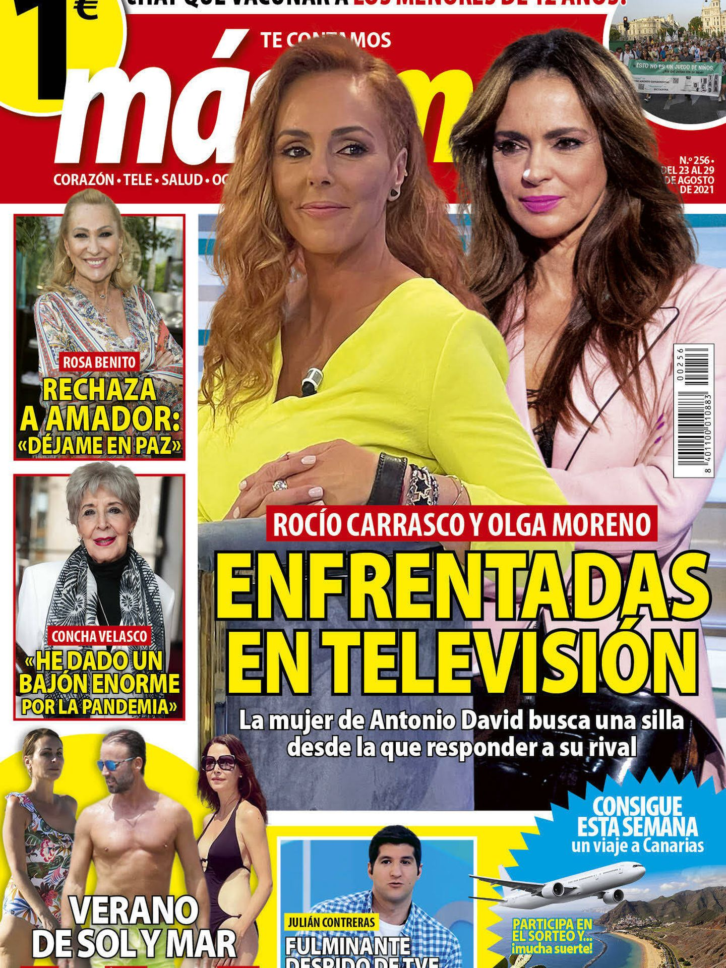 La portada de 'Más Noticias'.