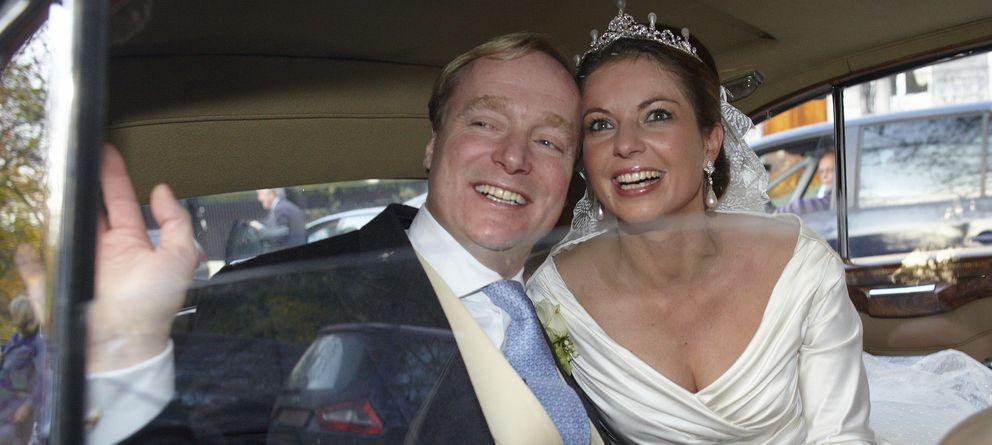 Foto: Carlos de Borbón Parma y Ana María el día de su boda (Gtres)