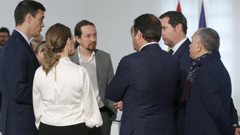 Los empresarios apuntan a Iglesias y temen un tripartito con Bildu en Euskadi