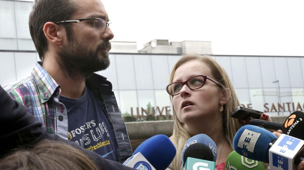 Foto: Antonio Lago y Estela Ordoñez, los padres de Andrea, que queríanuna muerte digna para su hija. (Efe)