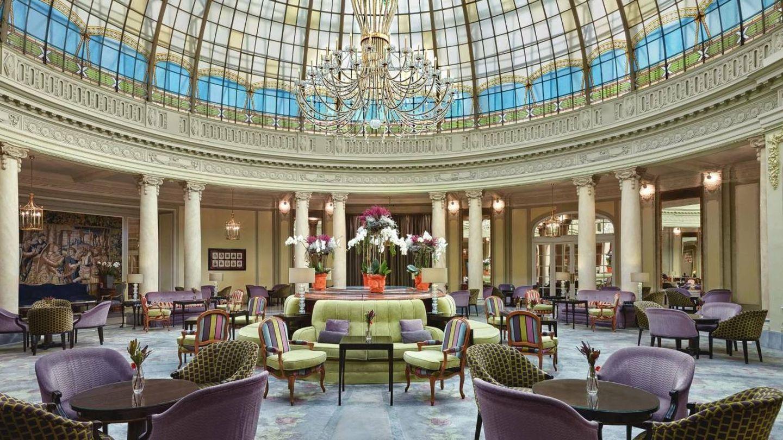 Imagen del restaurante La Rotonda del hotel Palace de Madrid. (Página web)
