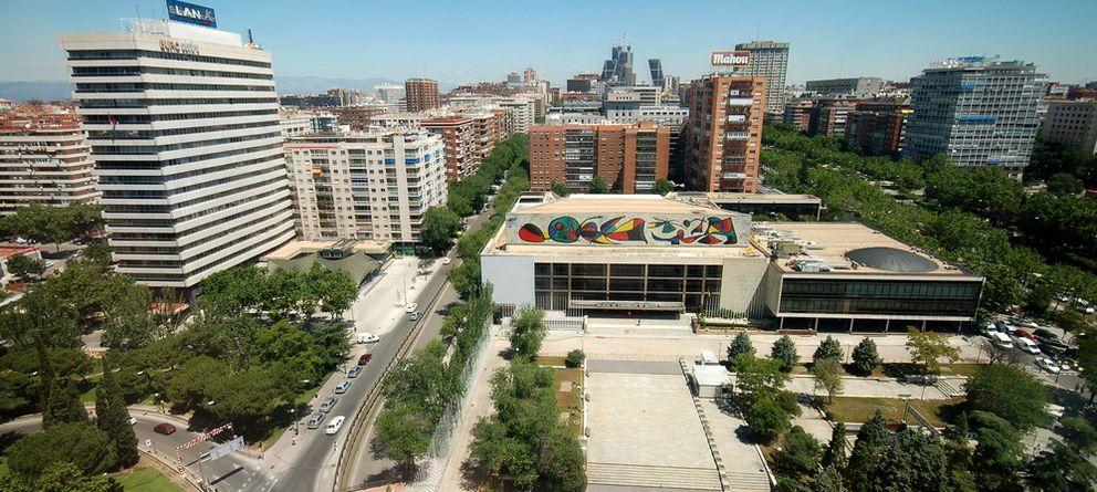 Foto: El Palacio de Congresos. (Foto: César Astudillo - Wikimedia)
