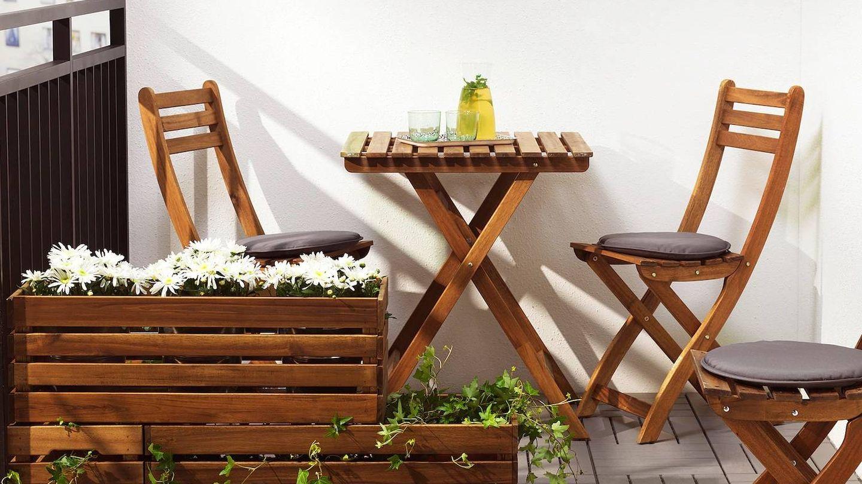 Maceteros de Ikea para decorar tu terraza. (Cortesía)