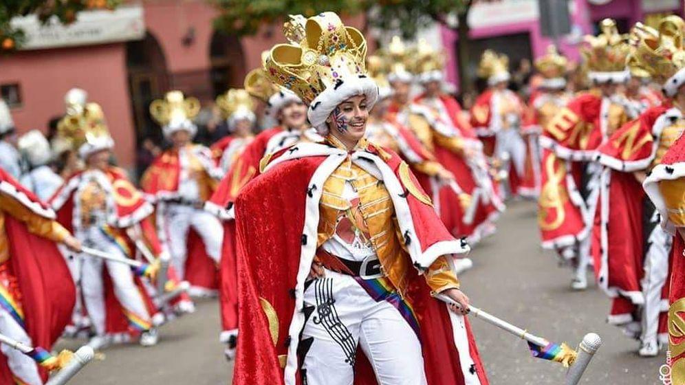 Foto: Imagen del Carnaval de Badajoz que ha compartido Queen en sus redes.