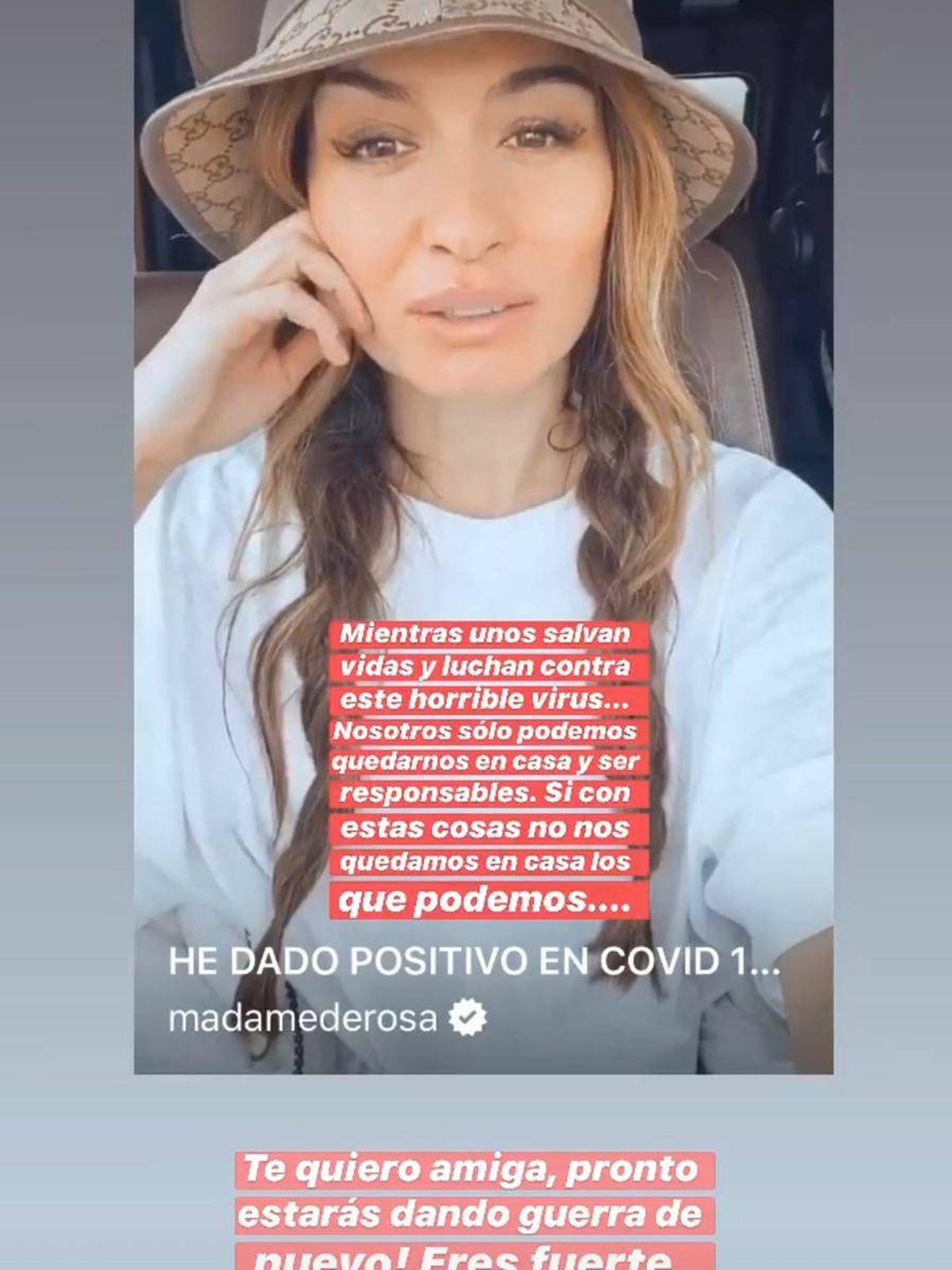 Stories de Instagram de Dulceida. (Instagram @dulceida)