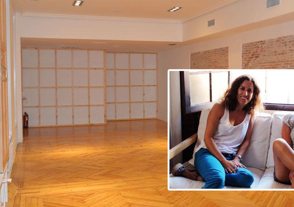 Foto: Imagen del nuevo Zentro Yoga y Mercedes de la Rosa (izq) con su compañera Mónica
