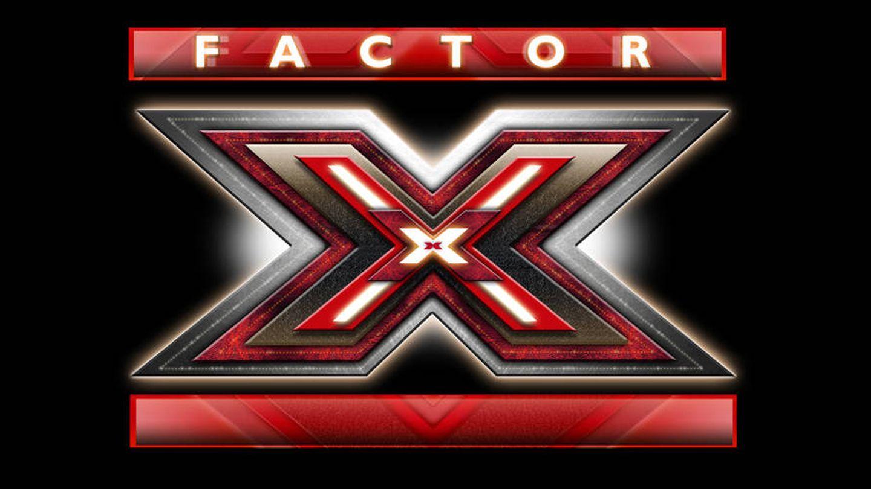 Logotipo de 'Factor X', el talent show musical de Fremantle Media.