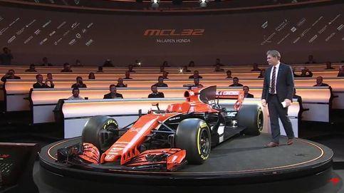 Así es el nuevo McLaren naranja de Fernando Alonso y Vandoorne