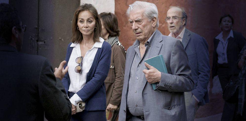 Foto: Preysler y Vargas Llosa en un fotomontaje de Vanitatis.