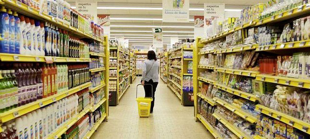 Foto: Interior de un supermercado de Alimerka. (Grupo IFA)