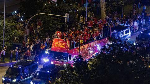 Las imágenes de la celebración de la Selección española de baloncesto