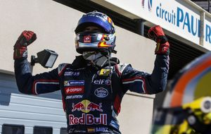 Sainz Jr cumple y es campeón de las WRS, ahora le toca a Red Bull
