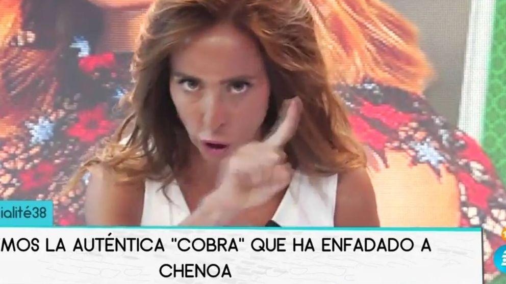 María Patiño critica a Chenoa por su reacción tras la cobra en su último concierto