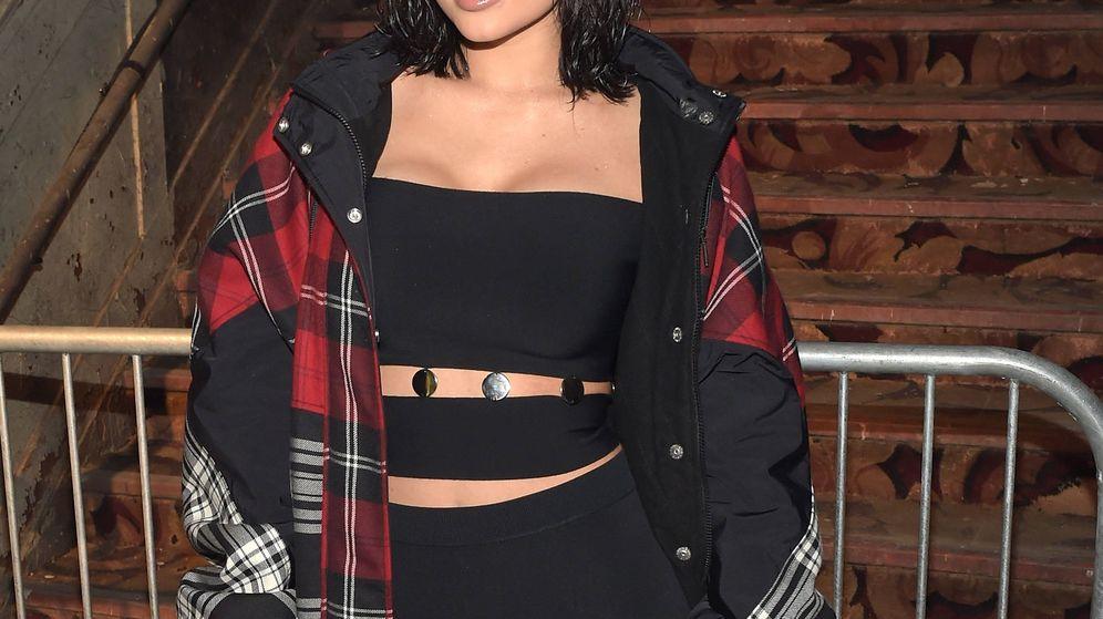 Foto: Kylie Jenner durante un desfile en febrero de 2017. (Getty)
