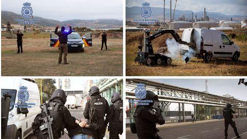 Espectacular simulacro de la Policía Nacional para situaciones de crisis