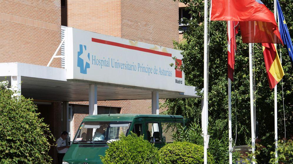 Foto: Fachada del Hospital Príncipe de Asturias de Alcalá de Henares. (EFE)