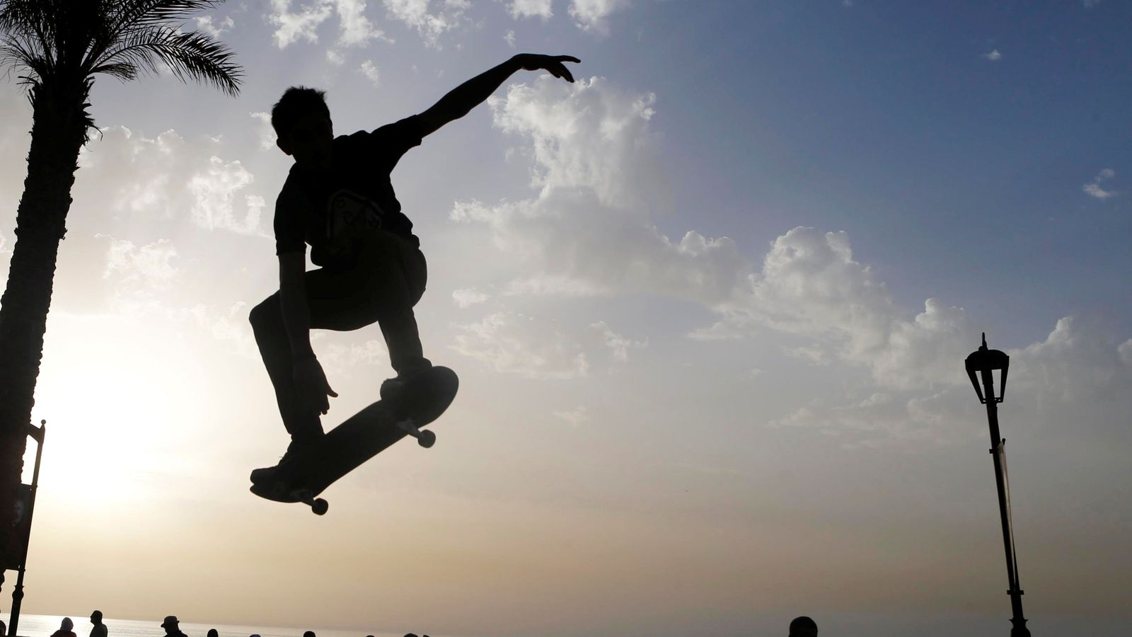 Foto: Una competición de skateboard (Reuters)