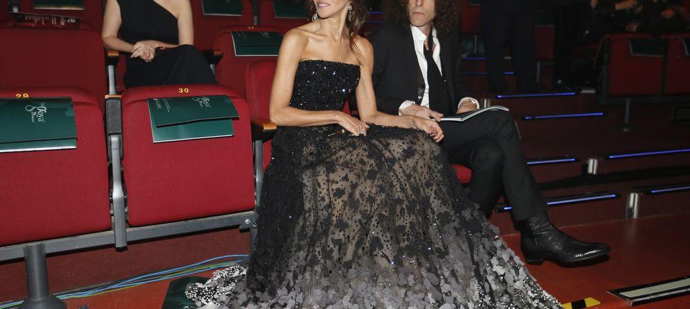 Foto: Goya Toledo y Craig Ross antes del comienzo de la gala (Gtres)