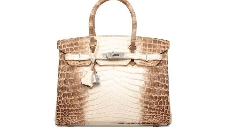 Hermès Birkin Bag Himalaya. (Christies)