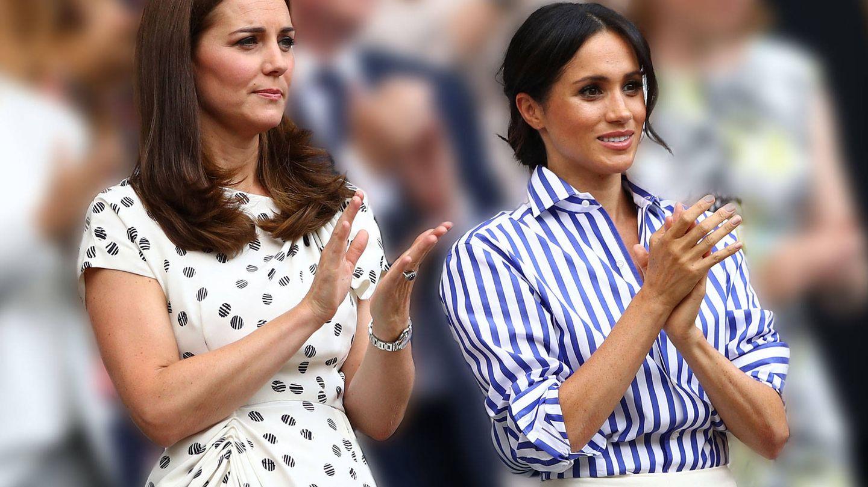 Kate Middleton y Meghan Markle. (Getty)