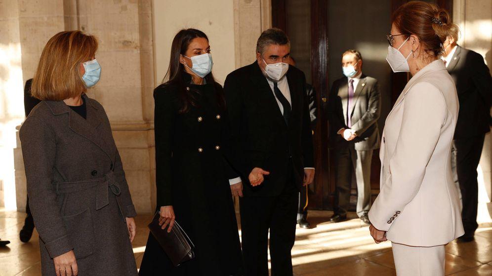 Foto: La reina Letizia, en el Palacio Real. (LP)