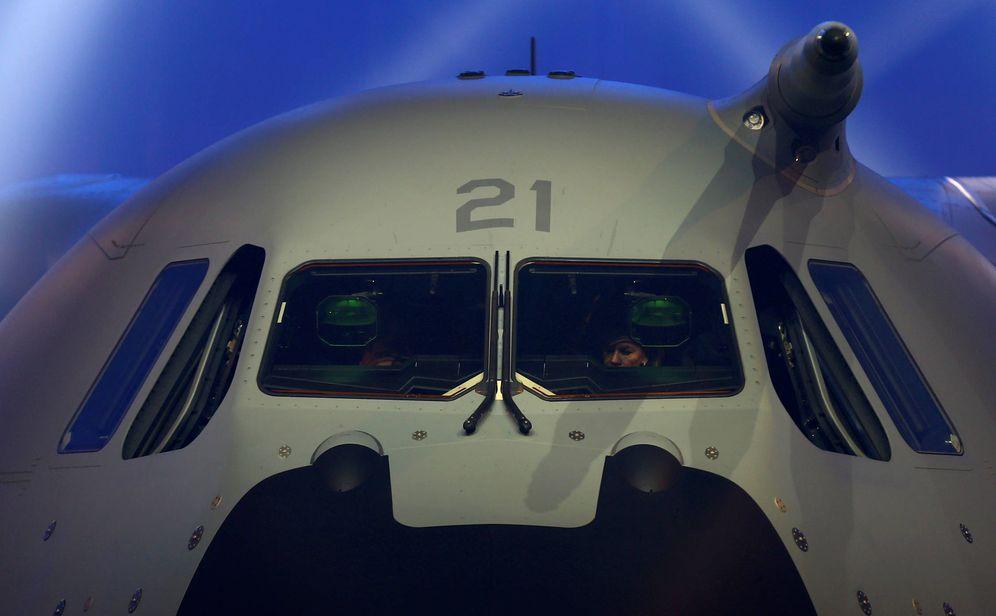 Foto: El Airbus A400M usará algunas de las tecnologías presentadas en la feria FEINDEF. (Reuters)