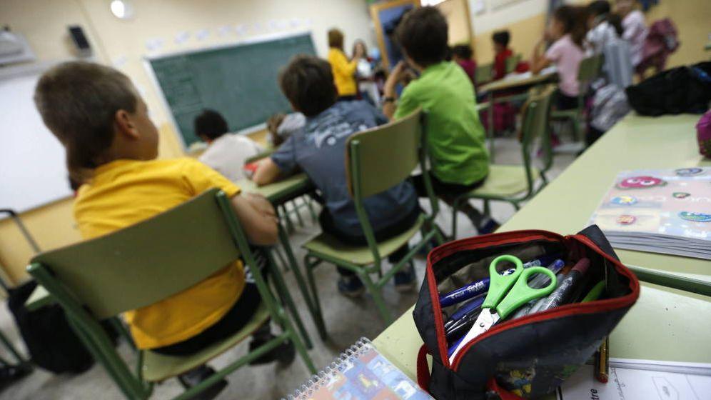 Foto: Foto: Un colegio de Madrid. (EFE)