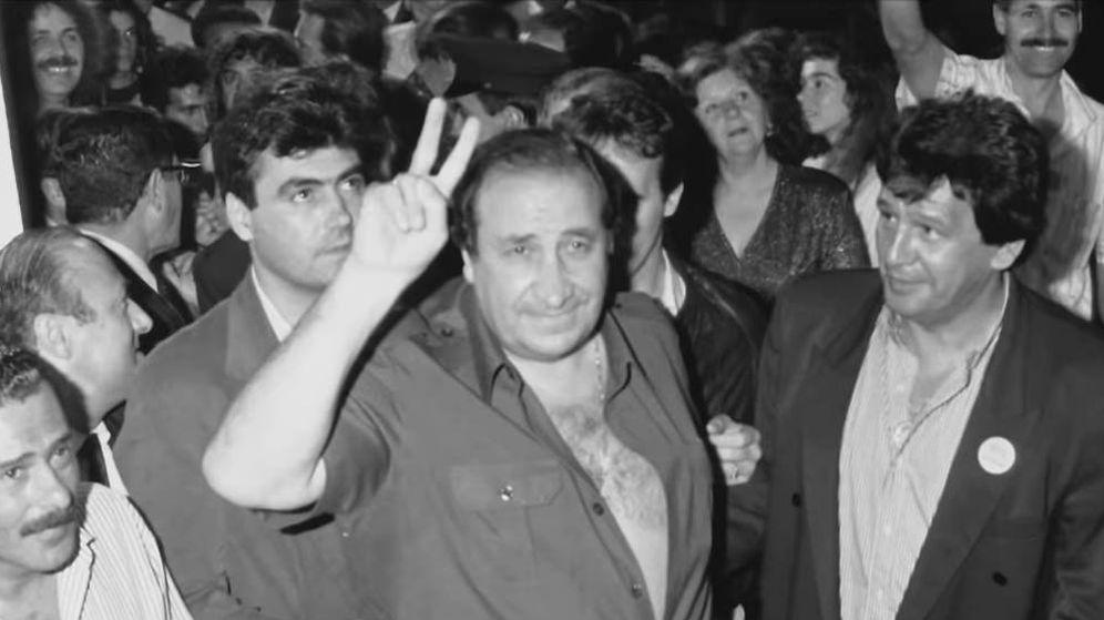 Foto: Jesús Gil, durante la campaña electoral. (HBO)
