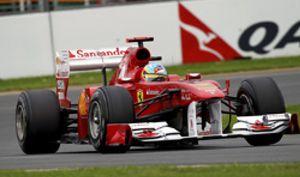 Fernando Alonso es cuarto en una carrera que dominó y ganó Vettel