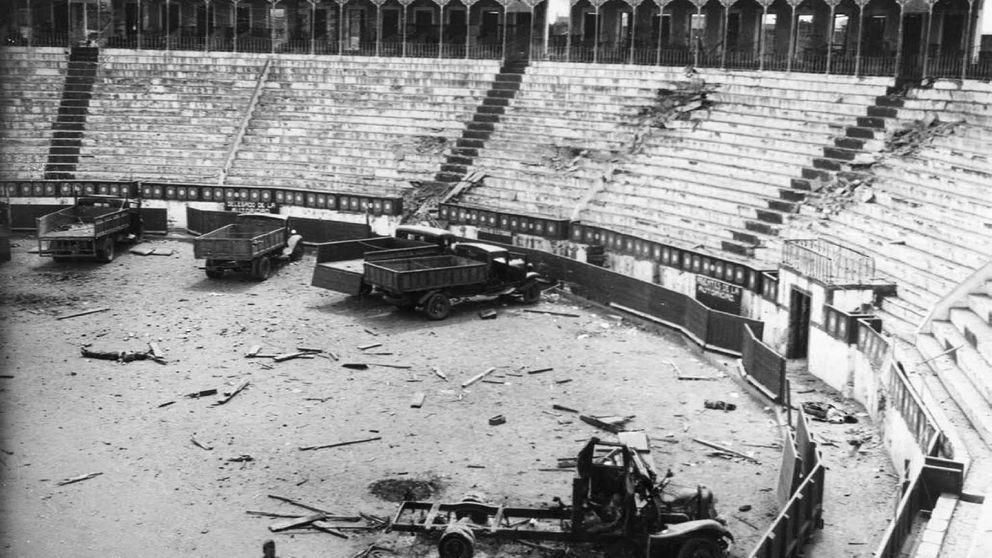 Masacres de la Guerra (II): terror en los burladeros de la Plaza de Toros de Badajoz