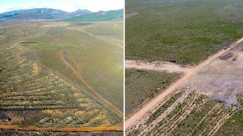 Destrozan una de las mayores minas de oro romanas de León