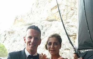 Carlos Slim y la baronesa Thyssen comparten cena y champán