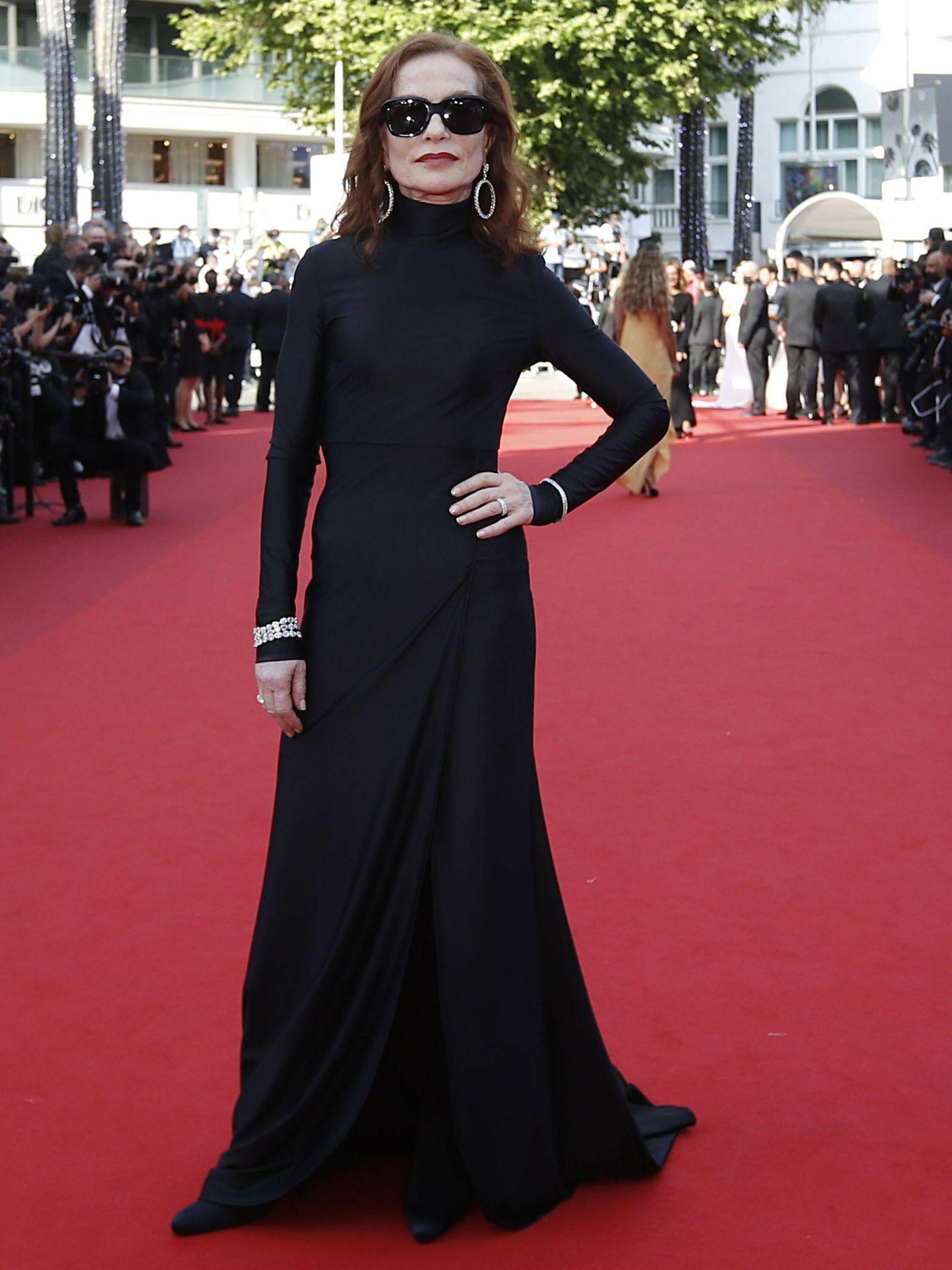Isabelle Huppert Wearing: Balenciaga. (Reuters)