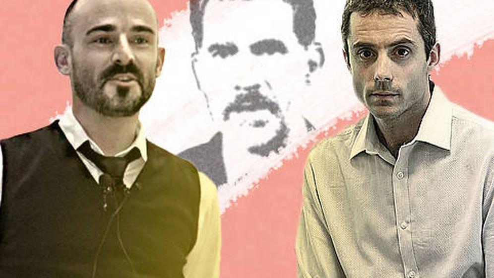 Foto:  El ingeniero químico Bernat Ollé y el científico Romain Quidant. (EC)
