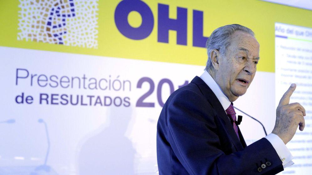 Foto: El presidente de OHL, Juan Miguel Villar Mir. (EFE)