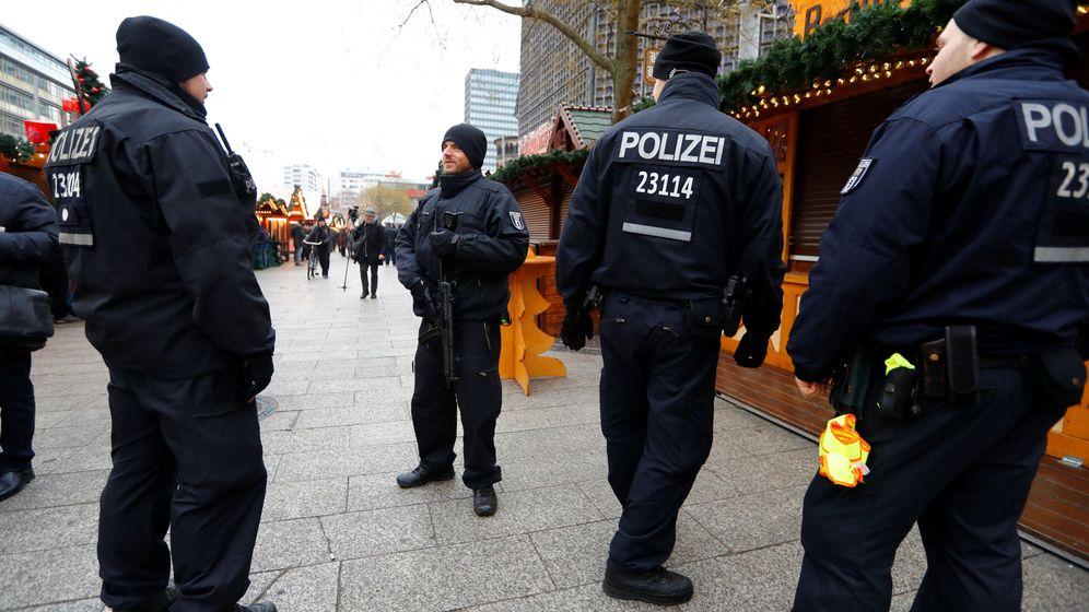 Foto: Policía alemana. (Reuters)